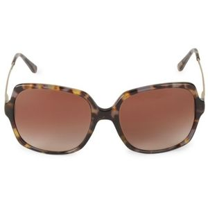 New MICHAEL KORS Square Tortoiseshell Sunglasses